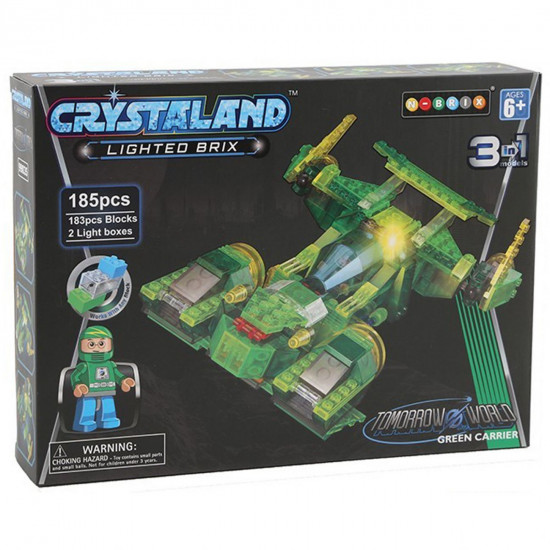 Crystaland nave spaziale 3v1