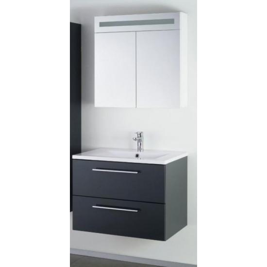 Sanotechnik composizione da bagno con lo specchio Fiora 70