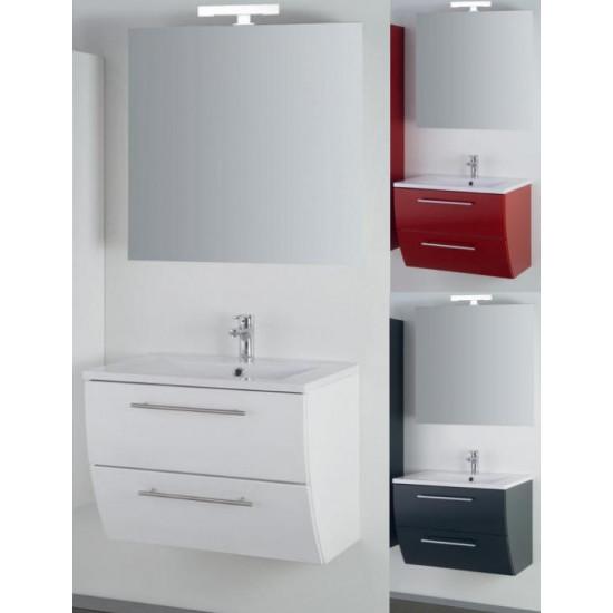 Sanotechnik composizione da bagno con specchio Sweet 70