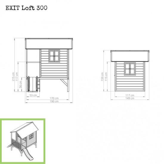 Casa per bambini Loft 300