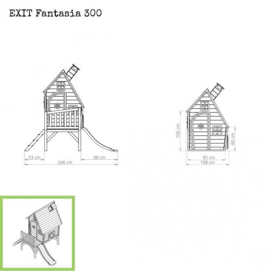 Casa per bambini Fantasia 300