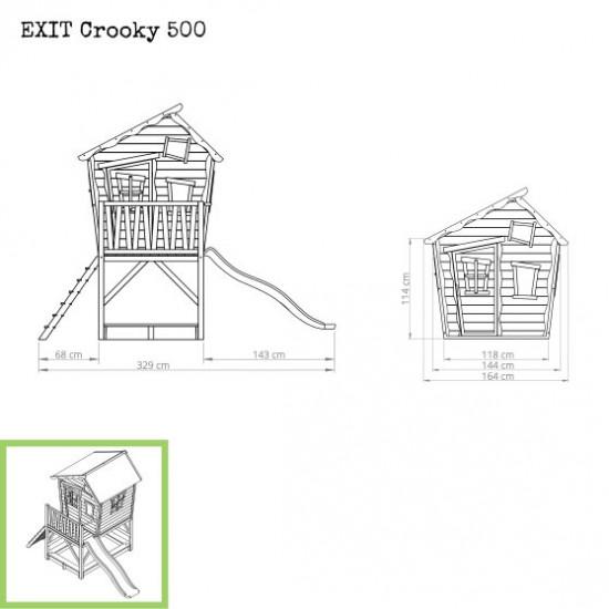 Casa per bambini Crooky 500