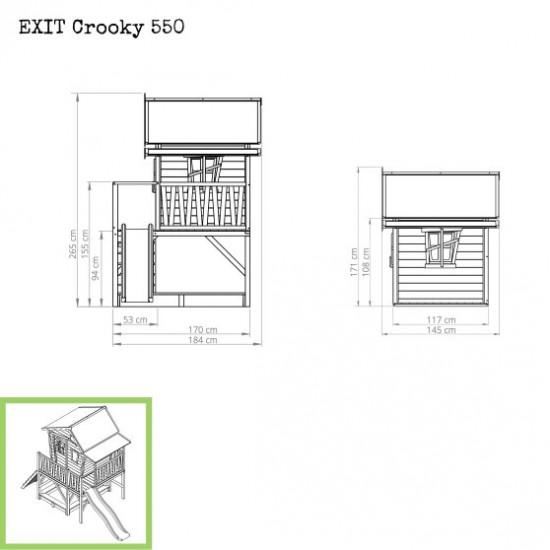 Casa per bambini Crooky 550
