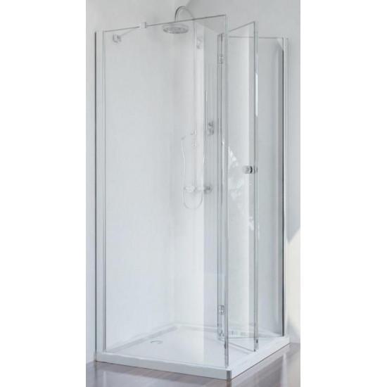 Sanotechnik doccia angolare 100x80 cm (destra)