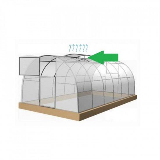 Finestra da tetto per serra da giardino Profi
