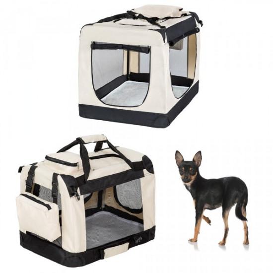 Trasportino pieghevole per cani S