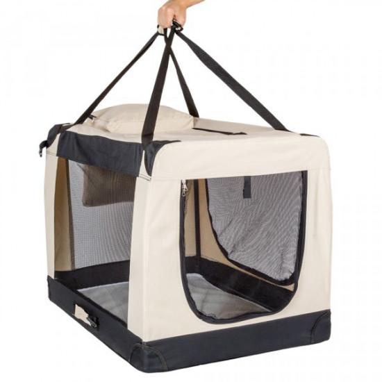 Trasportino pieghevole per cani XL