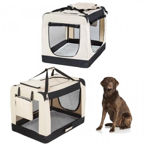 Trasportino pieghevole per cani XXL