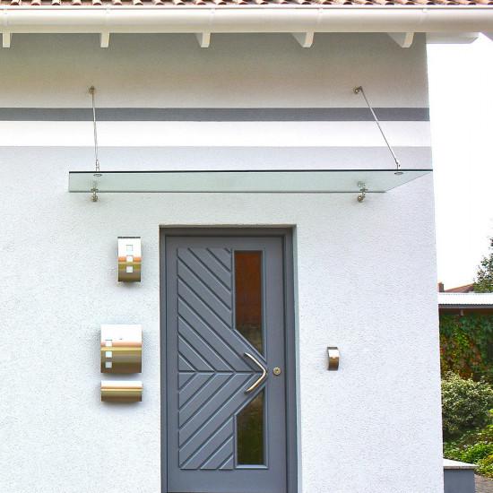 Baldacchino per la porta d'ingresso a 200x90cm V1