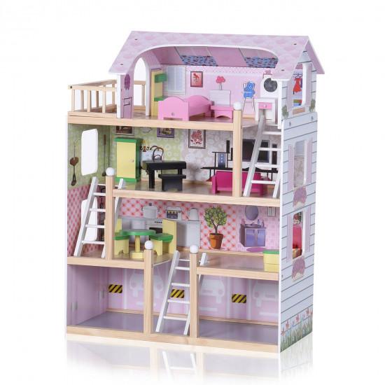 Casa delle bambole in legno 49980