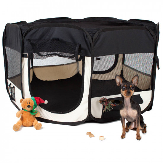 Box per animali in poliestere blu 400734